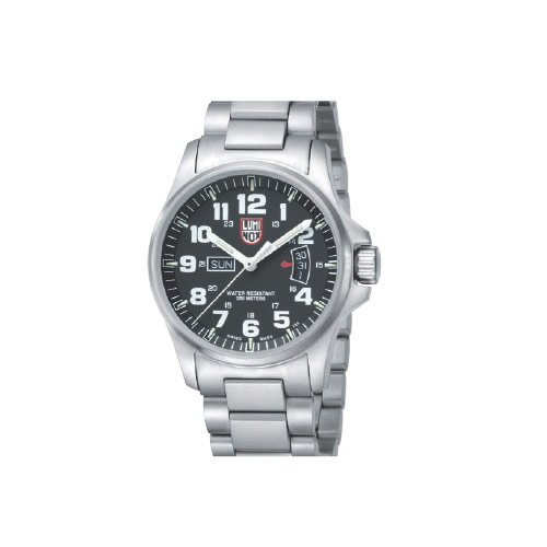 Luminox LU1822 Field Time Date 1800 Black Dial Bracelet Men's Watch
