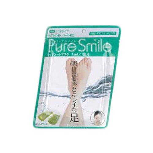 Pure Smile フットシートマスク アロエ 10枚セット