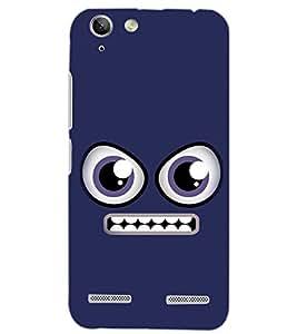 PrintDhaba SMILEY D-6389 Back Case Cover for LENOVO VIBE K5 (Multi-Coloured)