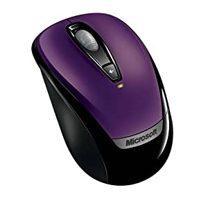 Microsoft Wireless Mobile Mouse 3000 – Purple