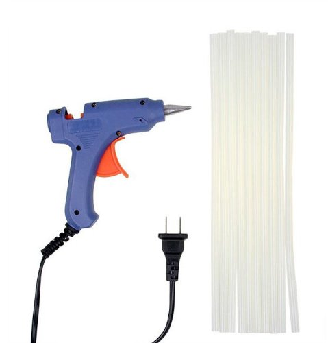 Mini 20W Electric Heating Hot Melt Glue Gun+30Pcs Glue Sticks Diy Art Craft Tool