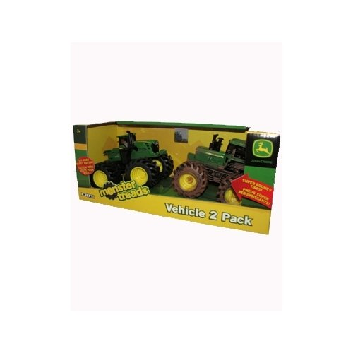 John Deere ERTL Monster Treads - Off Road Muddy Edition Vehicle 2-pack