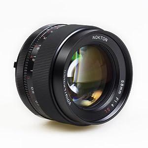 Amazon.com : Voigtlander Nokton 58mm f/1.4 SL-II N Manual Focus Lens