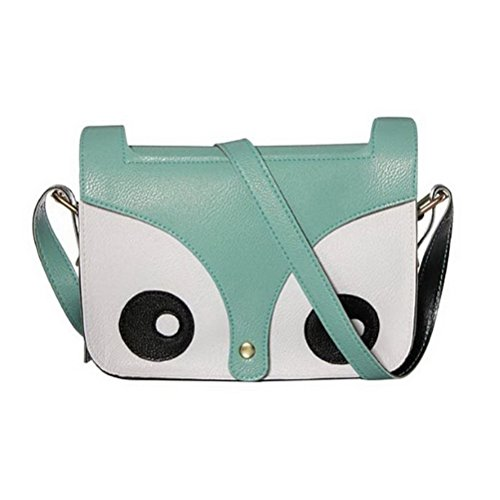 Fashion Road Carton Retro Shoulder Messenger Bag Crossbody Satchel Handbag