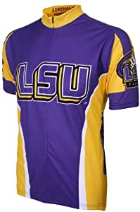 NCAA LSU Adrenaline Promotions Cycling Jersey by Adrenaline Promotions