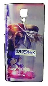 XUWAP Designer Silicone Case Soft Printed Cover For Micromax Canvas Blaze 4G Q414