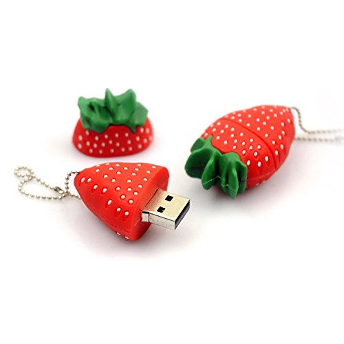 36932b99f65 New New usb flash drive Strawberry pen drive 64GB 32gb 16gb pendrive 8gb  4gb Memory usb