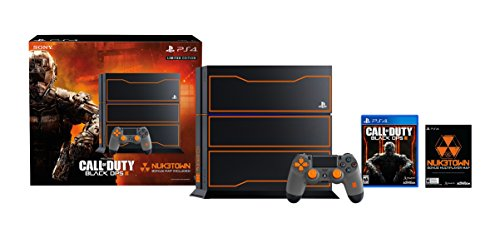PlayStation 4 1TB Console – Call of Duty: Black Ops 3 Limited Edition Bundle