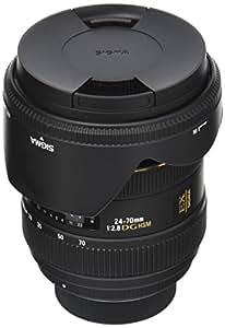 Sigma 24-70mm f2.8 IF EX DG HSM Nikon - Objetivo para Nikon (distancia focal 24-70mm, apertura f/2.8) color negro