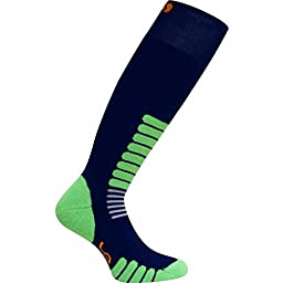 Eurosocks Ski Zone Socks, Navy, X-Large