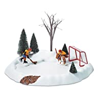 Department 56 Hockey Practice, Animated  S/3