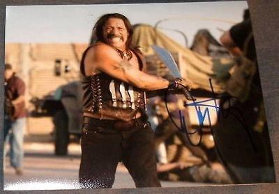 "Danny Trejo Signed Autograph ""Machete"" New Fight Photo - Autographed Boxing Photos"
