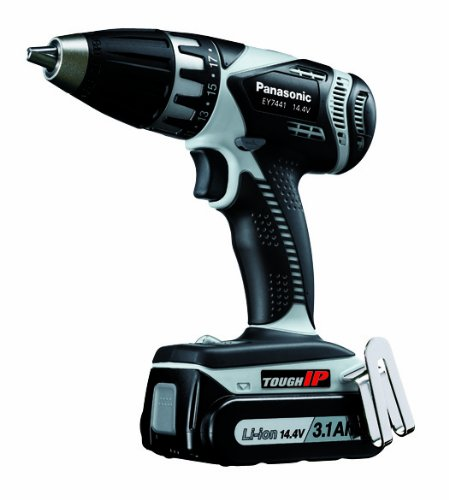 Panasonic EY7441LZ2S 14.4-Volt IP Drill & Driver Kit