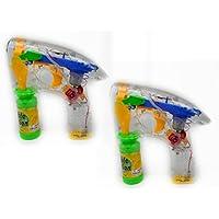 Set Of Light Up Bubble Guns (2 Pack)