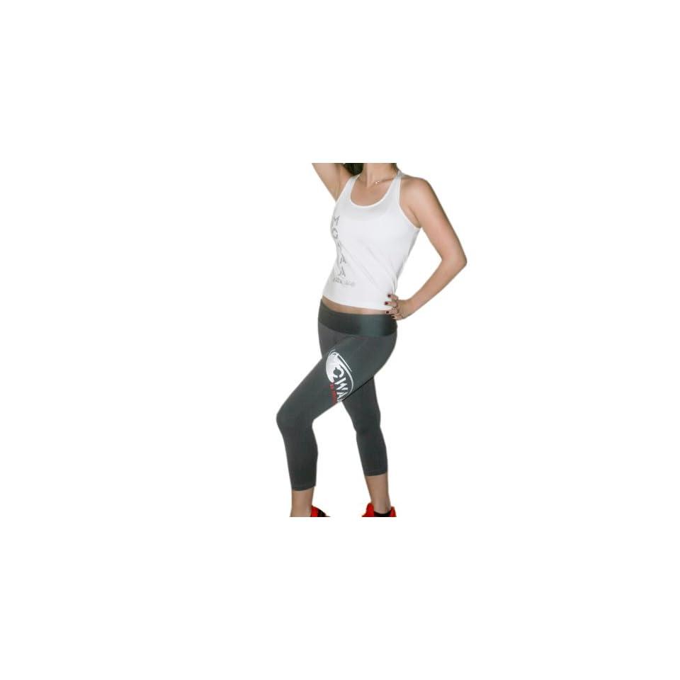 0beb28992d65 Brazilian Fitness Wear Workout Clothing Mowaa Sports Tank & Fold Over Capri  Set