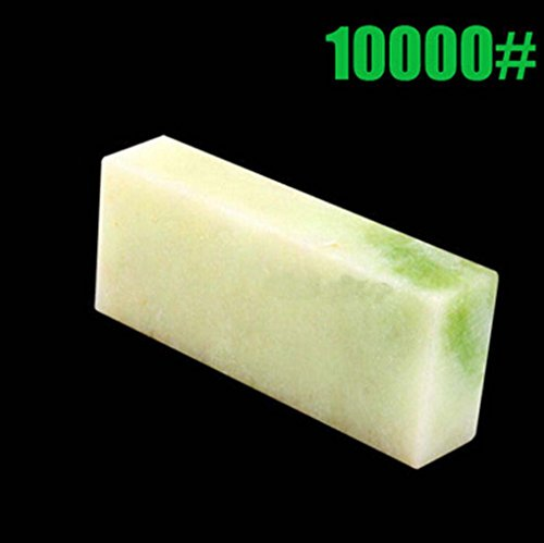 Yosoo Professional Knife Sharpening Stone 10000# Grit Polishing Sharpening Stone Knife Sharpener Whetstone Oilstone Block