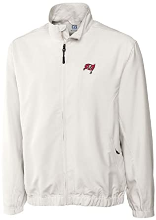 NFL Tampa Bay Buccaneers Mens WindTec Astute Full Zip Windshirt by Cutter & Buck