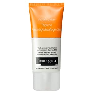 5Pack Neutrogena Visibly Clear Daily Moisturizer oil-free 5x 50ml