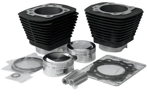 Revolution Performance Bolt-On Big Bore Kit (1250cc. Flat Top) - Bore 3.563in. - 10.5:1 Compression - Black 201-406W