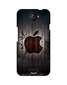AANADI - Hard Back Case Cover for HTC One X - Superior Matte Finish - HD Printed Cases and Covers