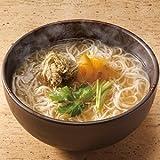 創業元禄五年「井筒屋」にゅうめん(柚子味噌スープ)