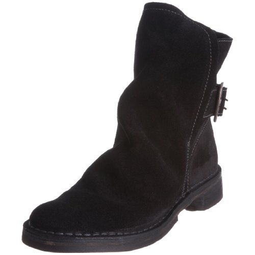 Fly London Women's Olaf Black Ankle Boot P210644003 4 UK