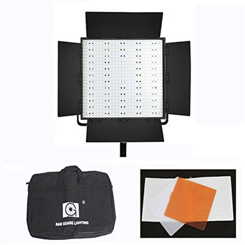 Nanguang 5400K/3200K 600 Leds Dimmable Led Photo Camera Camcorder Studio Continuous Light Lighting With Battery Mount For Photography Dslr Video Effect