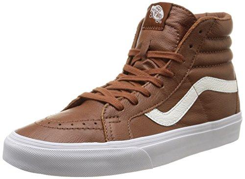 Recomendado!! Zapatillas hombre de cuero premium VansU Sk8-Hi Reissue Leather (varias tallas)