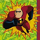 The Incredibles Napkins 16 Count