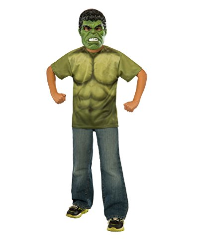 Rubie's Costume Avengers 2 Age of Ultron Child's Hulk T-Shirt and Mask