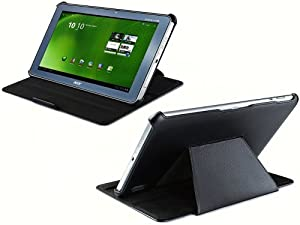 UltraSlim Acer Iconia Tab A210 A211 & Iconia Tab A200 Tasche Case Hülle mit Standfunktion