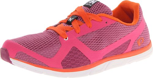 Pearl Izumi – Run Women's W EM Road N 0 Running Shoe,Rasberry Rose/White,9.5 D US