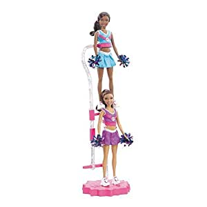Can Be A Cheerleader Doll Set (AA) - Nikkie and Grace: Toys & Games