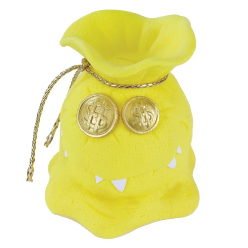Money Grubber Bank, Yellow - 1