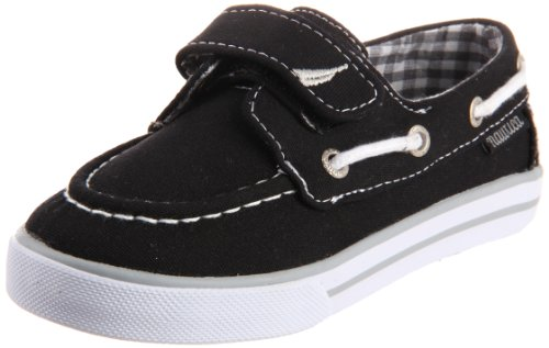 Nautica Little River 130 Boat Shoe (Toddler/Little Kid/Big Kid),Black,6 M Us Toddler front-988227