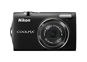 Nikon Coolpix S5100 12 MP Digital Camera with 5x Optical Vibration Reduction (VR) Zoom and 2.7-Inch LCD (Black)