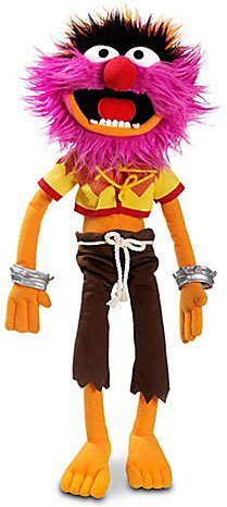 The Muppets Exclusive 17 Inch Deluxe Plush Figure Animal front-991397