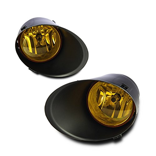 Starr Lite 07-12 Toyota Tundra Fog Lights - (Yellow) - (Wiring Kit & Cover Included)