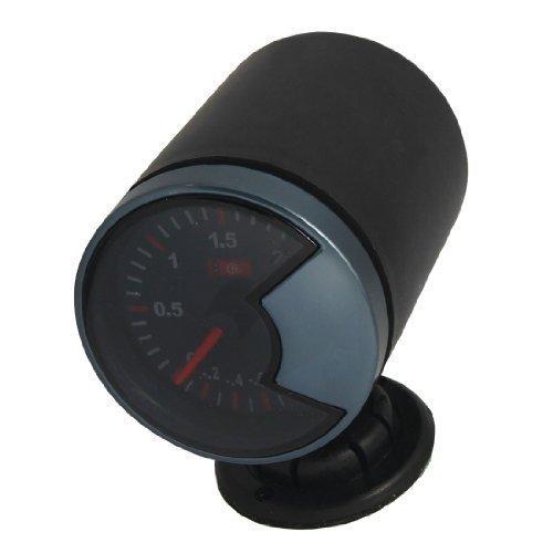 sourcingmap® Auto 6.1cm Supporto Diametro Turbo Boost Punte Che Indica Vacuometro