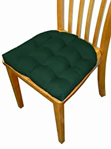 Small patio chair cushion outdura solid for U shaped dining room chair cushions