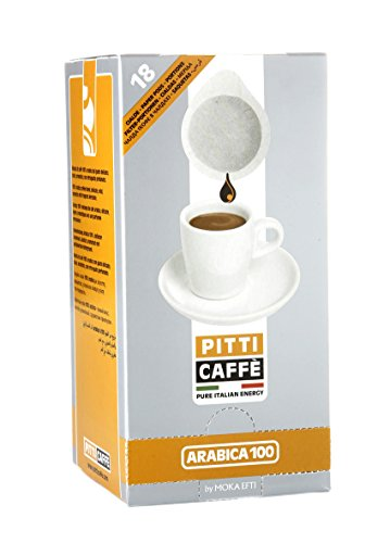 Pitti Caffe Arabica Espresso Pods (Pack of 18)