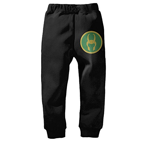 PantXD Unisex Kid's Loki Helmet Sweatpants (Loki Helmet For Sale)
