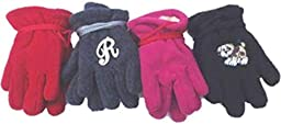 Four Pairs Fine Mongolian Fleece Very Warm Gloves for Ages 0-12 Months