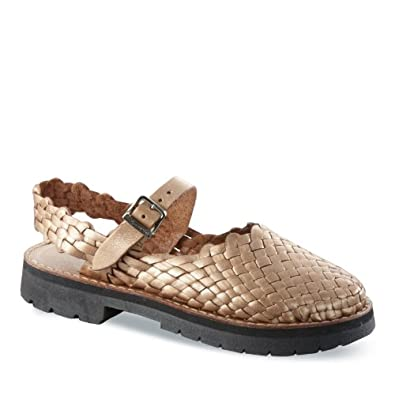 Brand X Women's Mary Jane Huarache Sandals:Amazon:Shoes