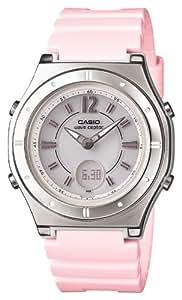 [カシオ]CASIO 腕時計 WAVECEPTOR ウェーブセプター レディース電波ソーラーウォッチ ピンク MULTIBAND6 マルチバンド6  LWA-M142-4AJF レディース