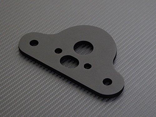 スーパーカブ リトルカブ用 ハンドルセッター マットブラック アップハンドル 用 アップハンKIT バーハンKIT