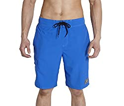 Speedo Men's Polyester Shorts (8901326545737_806907A447_X-Small_Beautiful Blue)