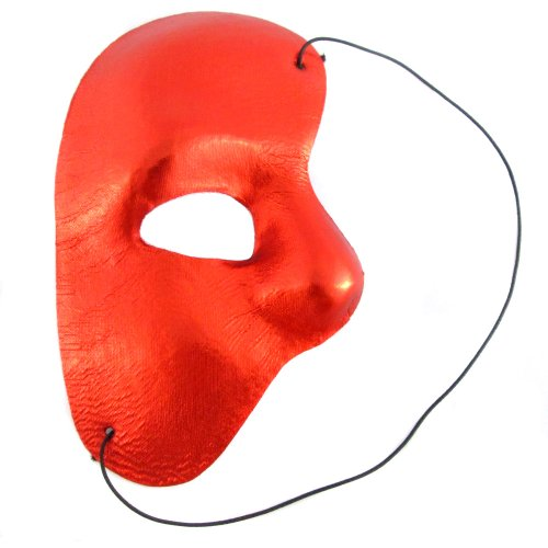Masquerade Phantom theme Mask Half Mask Cosplay Mask Red