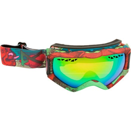 Anon Realm Goggles 2011 Full Sunshine – Nymph-Green Solex