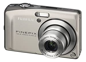"""Fujifilm F60fd Appareil photo compact numérique Capteur 12 MP Ecran LCD 3"""" Zoom optique x3 Stabilisateur Argent"""